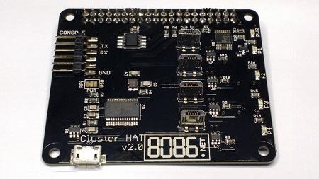 Cluster HAT v2 PCB