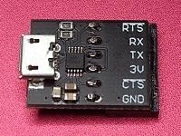 USB CDC Serial Adaptor (3V3)