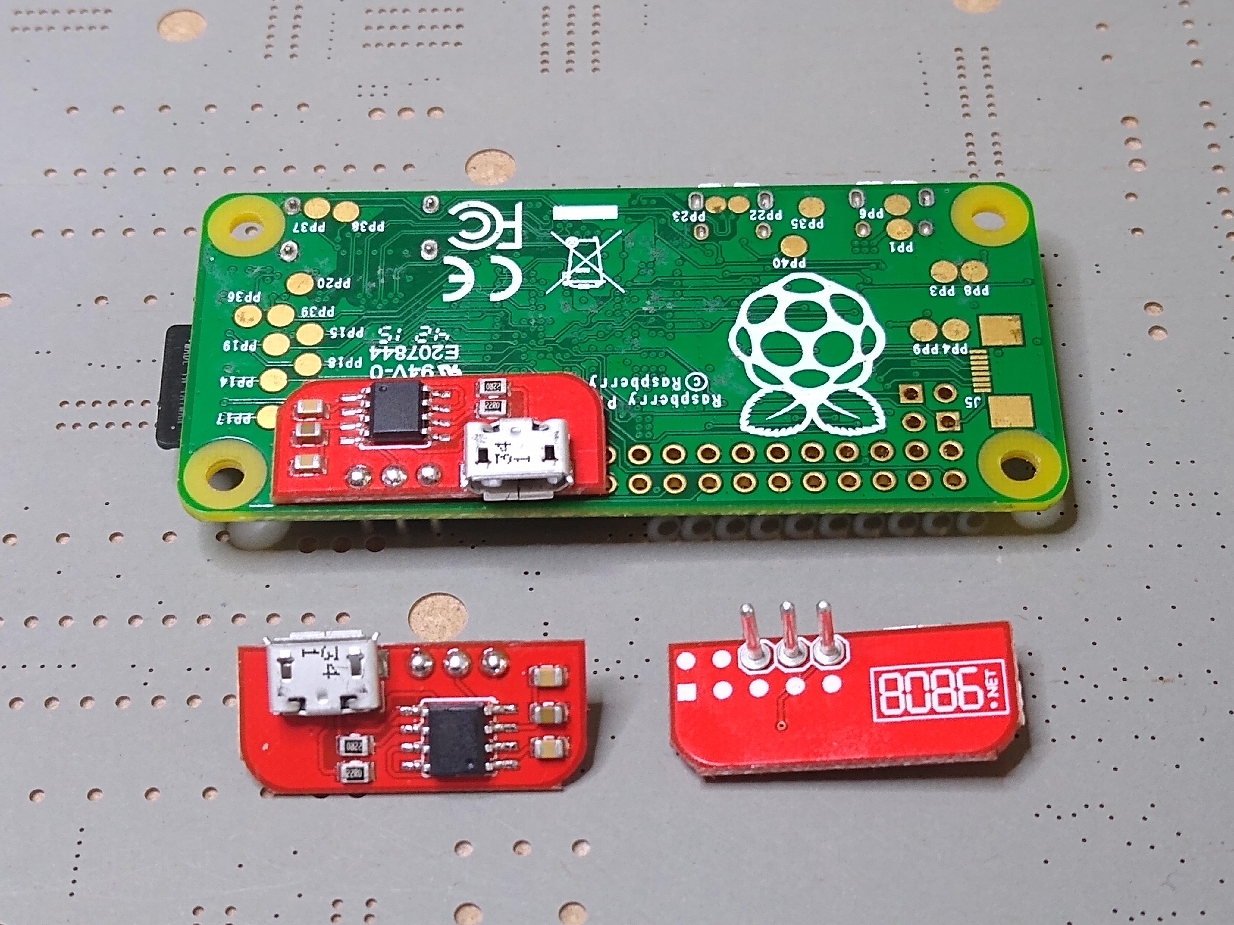 Solderless USB (CDC) Serial Adapter (Pi Zero)