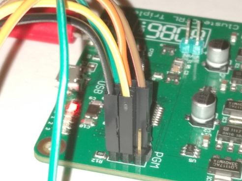 Program Cluster Triple wiring
